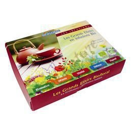 COFFRET INFUSIONS BIO 5 GRANDS ELIXIRS BIOFLORAL